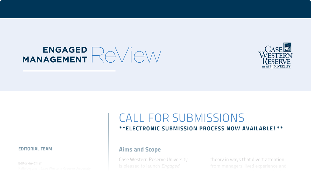 EMR Call for Submissions